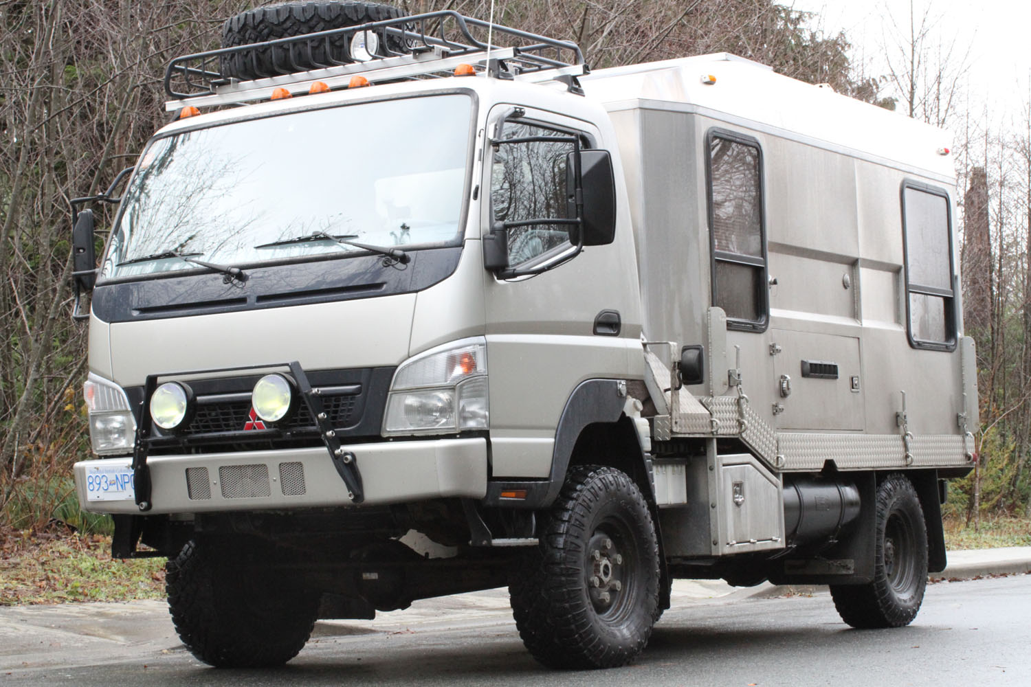 Fuso Fg 4x4 Camper In Canada | Autos Post