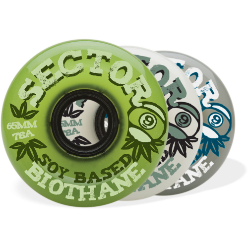 Sector Nine – Wheels – 65mm/78a Soy based