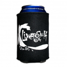 "Live To Surf ""Splatter"" Beer Coolie"