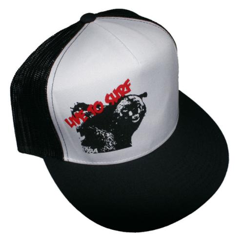 "Live To Surf ""Creature"" Trucker Hat"