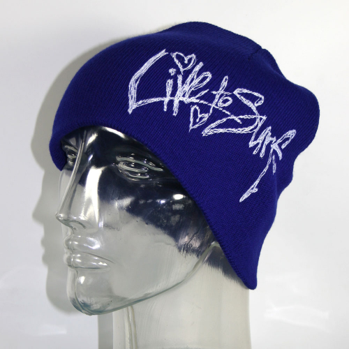 """Live To Surf """"Hearts"""" Toque"""