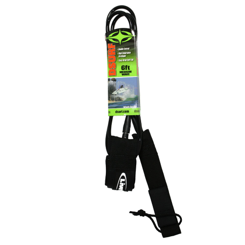 6ft Performance – Live To Surf – Surfboard Leash