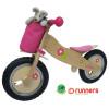 "Runners-Bike ""Princess"" Kids Wooden Push Bike"