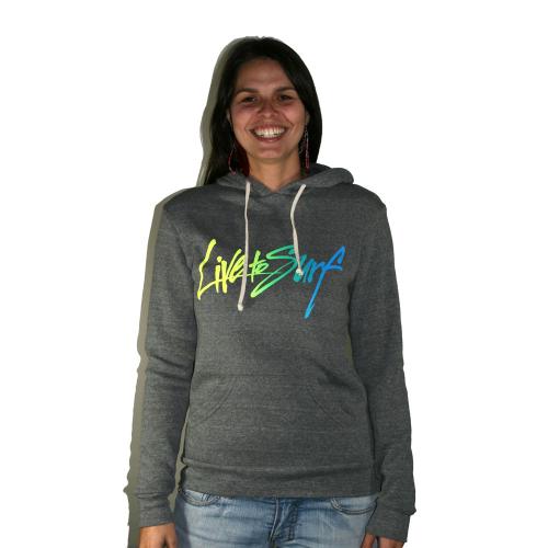 Live To Surf – Unisex (W) Pullover Sweatshirt – Signature