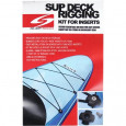 SUP Deck Rigging Kit for Inserts