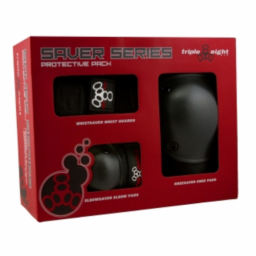 Triple Eight Saver Series Safety Gear (Knee, Elbow, Wrist)