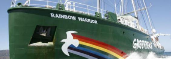 Rainbow Warrior Wild Salmon Flotilla, Wants Surfers – Oct 07, 2013