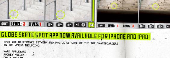Globe Skate Spot App for Iphone/Ipad
