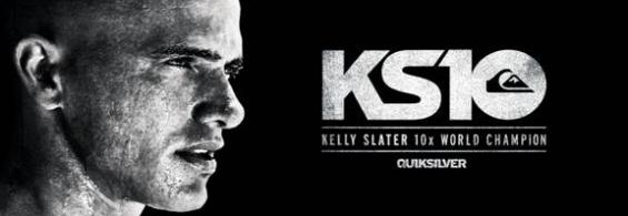Congratulations Kelly Slater 10X World Champion