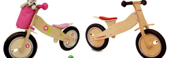 Kids Wooden 'Runners-Bike'