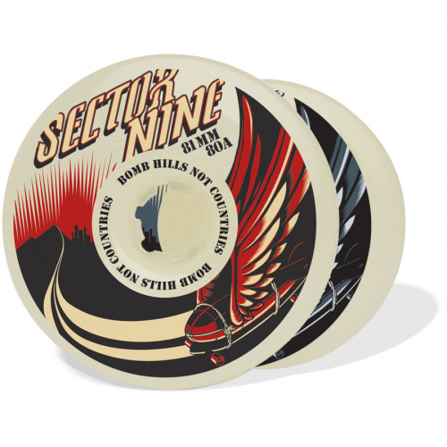 Sector Nine – Wheels – 81mm/80a