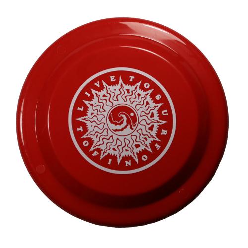 Live To Surf Original Frisbee (Flying Disc)