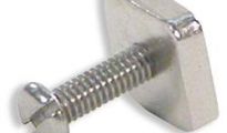 Stainless Steel Fin Bolt & Plate
