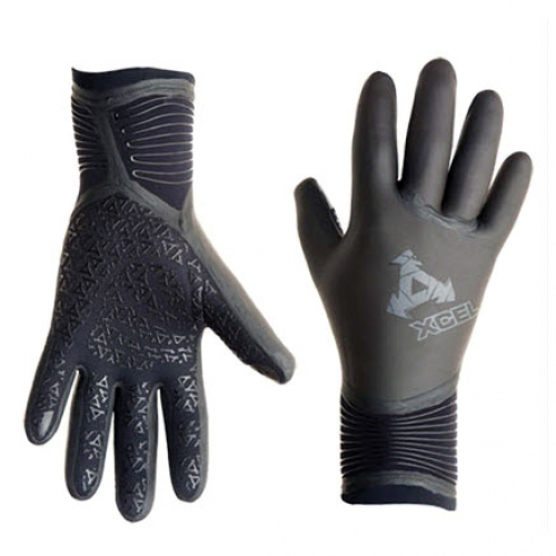 Xcel 5mm Drylock 5-Finger Gloves
