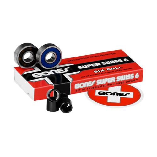 Bones® Super Swiss 6 Bearings