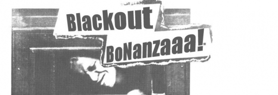 Blackout Bonanza This Monday (Sept. 26th) Check it Out!!