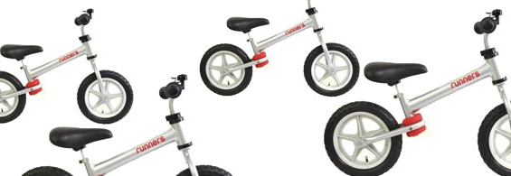 New Ultra-Light Aluminum Runners Bikes with FREE Shipping