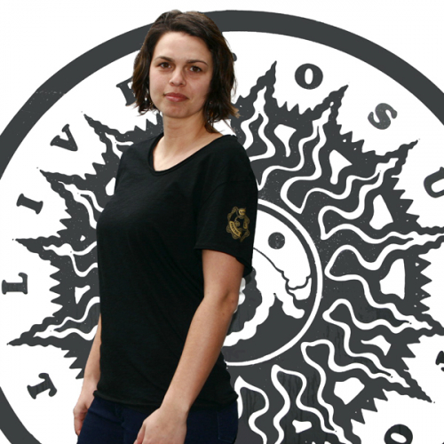 Live To Surf – Womens Crew Neck T-Shirt – Life Ring