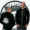 Live To Surf - Unisex Zip-Up Sweatshirt - Original Black