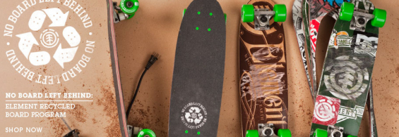 No Board Left Behind – Element Recycled Board Project