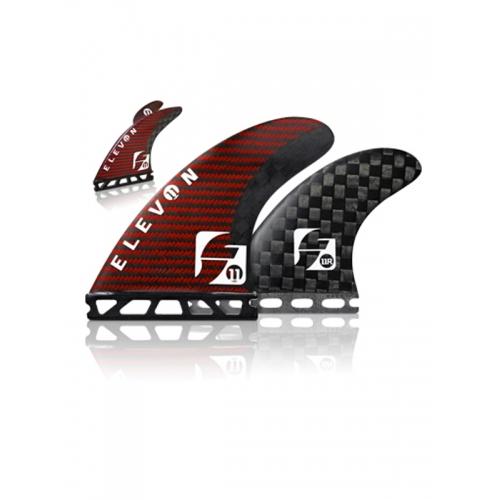 Futures Elevon Carbon Kevlar Quad Foil Fins