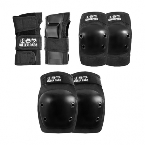 187 Killer Junior 6 pack Safety Gear (Knee, Elbow, Wrist Pads)