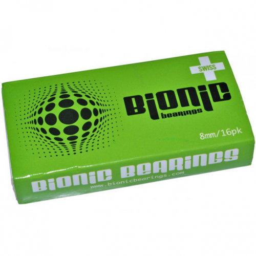 Bionic SWISS 8mm Bearings (16pk)