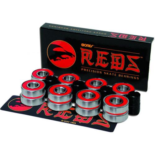 Bones Reds 16 Pack Bearings (7mm or 8mm)