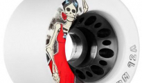 Roller Bones Day of the Dead Wheels 62mm 92a (set of 8)