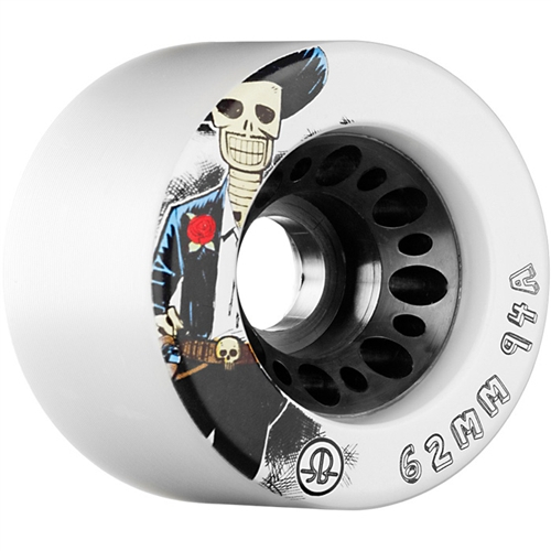 Roller Bones Day of the Dead Wheels 62mm 94a (set of 8)