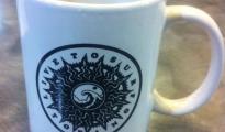 Live To Surf Original Logo Coffee Mug