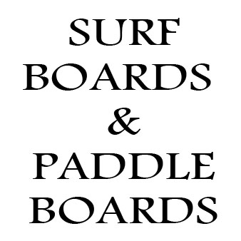 Surfboards & Paddleboards