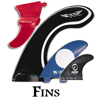 Fins (Foils - Skegs)